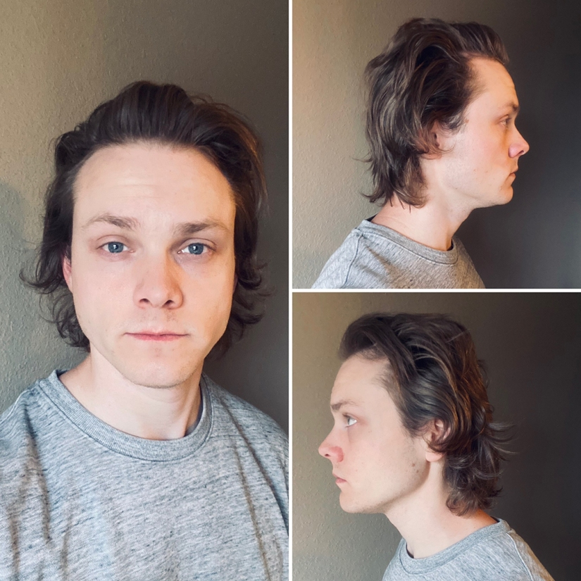 Long hair picture